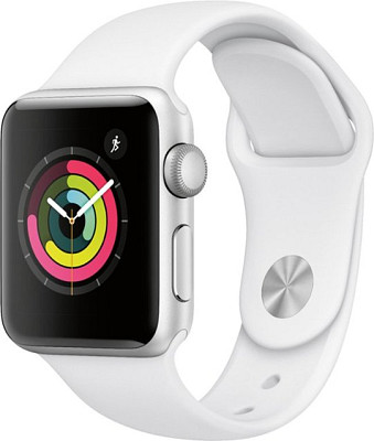 Apple Watch 3, 38mm, Silver  with W...
