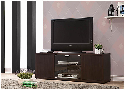 Rectangular TV Console With Magneti...